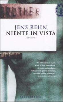 Niente in vista - Jens Rehn - copertina