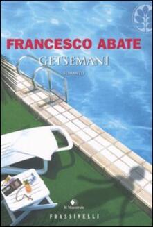 Getsemani - Francesco Abate - copertina