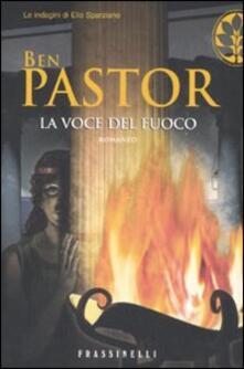 La voce del fuoco - Ben Pastor - copertina