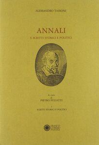Annali e scritti storici e politici. Vol. 1