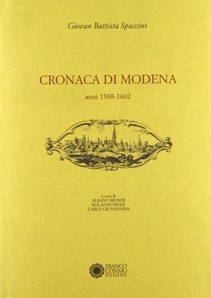 Cronaca di Modena. Vol. 1: Anni (1588-1602).