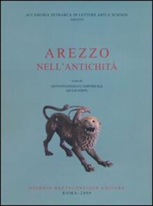 Arezzo nell'antichità - copertina
