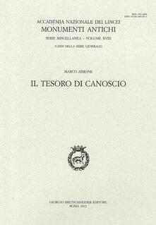 Il tesoro di Canoscio - Marco Aimone - copertina