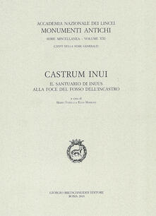 Castrum Inui. Il santuario di Inuus alla foce del fosso dell'Incastro - copertina