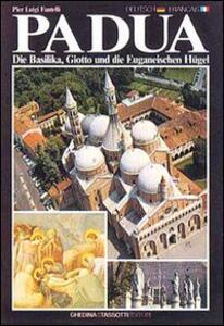 Padua, die Basilika, Giotto und die Euganeischen Huegel-Padoue, la Basilique, Giotto et les Cols Euganéens