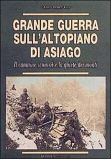 Grande guerra sull'altopiano di Asiago. Il cannone sconvolse la quiete dei monti - Carlo Meregalli - copertina