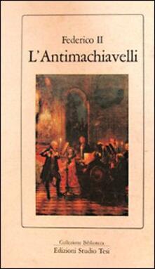 L' antimachiavelli - Federico II - copertina