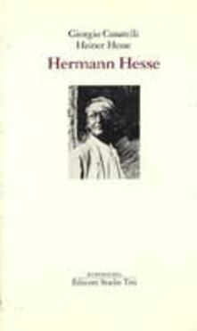 Hermann Hesse - Giorgio Cusatelli,Heiner Hesse - copertina
