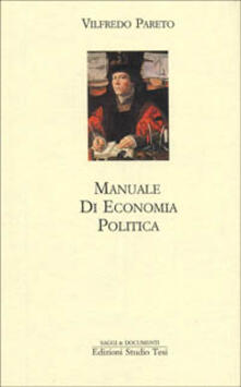 Manuale di economia politica - Vilfredo Pareto - copertina