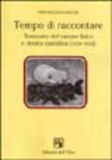 Tempo di raccontare. Tramonto del canone lirico e ricerca narrativa (1939-1956) - Stefano Giovannuzzi - copertina
