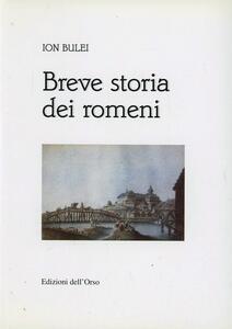 Breve storia dei romeni