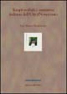 Tempi verbali e narrativa italiana dell'Otto-Novecento - P. Marco Bertinetto - copertina