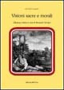 Visioni sacre e morali - Alfonso Varano - copertina