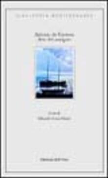 Arte del navigare - Antonio De Guevara - copertina