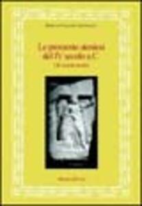 Le prossenie ateniesi del IV secolo a. C. Gli onorati asiatici