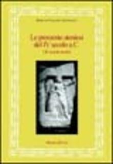 Le prossenie ateniesi del IV secolo a. C. Gli onorati asiatici - Enrica Culasso Gastaldi - copertina