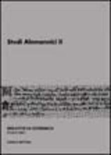 Winniearcher.com Studi alemannici. Vol. 2 Image