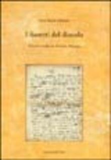 I fioretti del diavolo. Nuovi studi su Cesare Pavese - Anco Marzio Mutterle - copertina