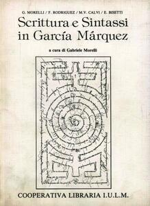Scrittura e sintassi in García Marquez