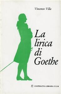 La lirica di Goethe