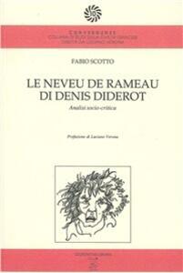 Le neveu de Rameau, di Denis Diderot. Analisi socio-critica