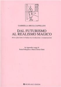 Dal futurismo al realismo magico. Arte e fascismo in Italia tra rivoluzione e restaurazione