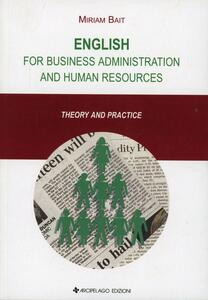English for business administration and human resources