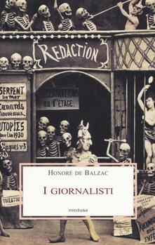 I giornalisti - Honoré de Balzac - copertina