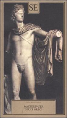 Studi greci - Walter Pater - copertina