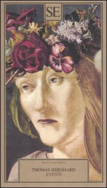 Eventi - Thomas Bernhard - copertina