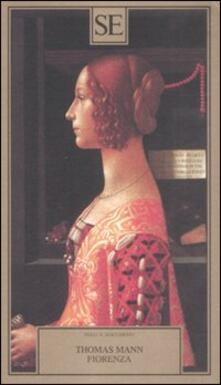 Fiorenza - Thomas Mann - copertina