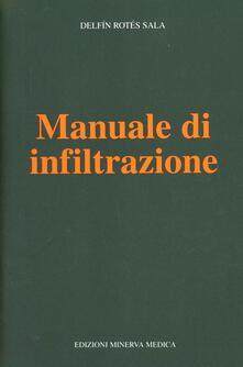 Manuale di infiltrazione - Delfin R. Sala - copertina