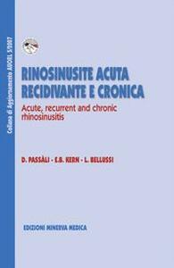 Rinosinusite acuta recidivante e cronica. Ediz. italiana e inglese