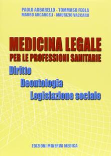 Cocktaillab.it Medicina legale per le professioni sanitarie. Diritto. Deontologia. Legislazione sociale Image