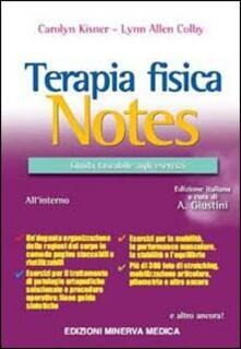 Museomemoriaeaccoglienza.it Terapia fisica Notes. Guida tascabile agli esercizi Image