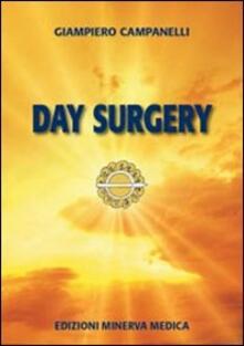 Day surgery - Giampiero Campanelli - copertina