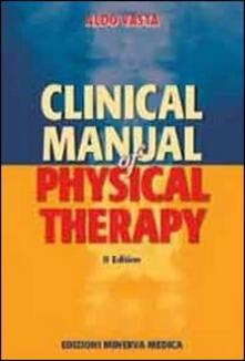 Clinical manual of physical therapy - Aldo Vasta - copertina