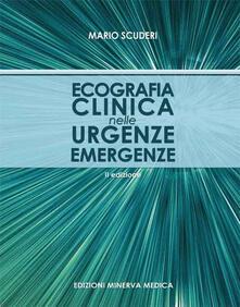 Ecografia clinica nelle urgenze emergenze - Mario Scuderi - copertina