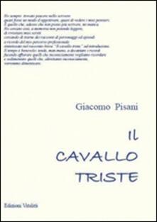 Il cavallo triste - Giacomo Pisani - copertina