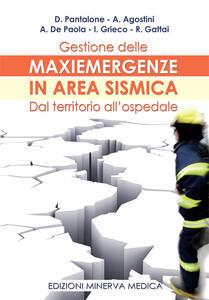 Gestione delle maxiemergenze in area sismica. Dal territorio all'ospedale
