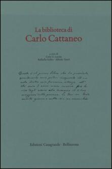 La biblioteca di Carlo Cattaneo - copertina