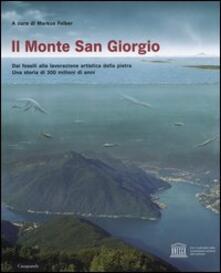 Il monte San Giorgio - copertina