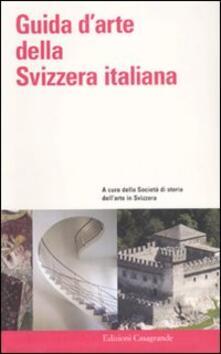 Guida d'arte della Svizzera italiana - copertina