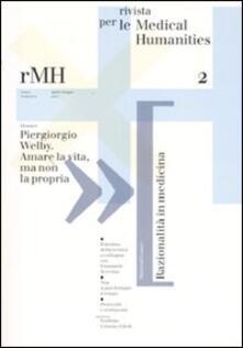 Radiospeed.it Rivista per le medical humanities (2007). Vol. 2 Image
