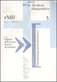 Rivista per le medical humanities (2007). Vol. 3 - copertina