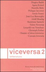 Viceversa. Letteratura. Vol. 2