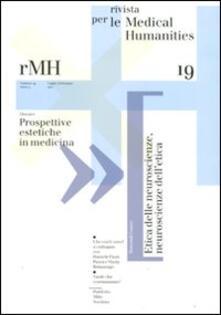 Voluntariadobaleares2014.es Rivista per le medical humanities (2011). Vol. 19: Prospettive estetiche in medicina. Image