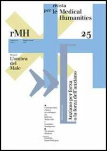 Rivista per le medical humanities (2013). Vol. 25: L'ombra del male. - copertina
