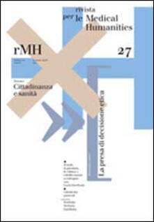 Tegliowinterrun.it Rivista per le medical humanities (2014). Vol. 27: Cittadinanza e sanità. Image