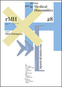 Rivista per le medical humanities (2014). Vol. 28